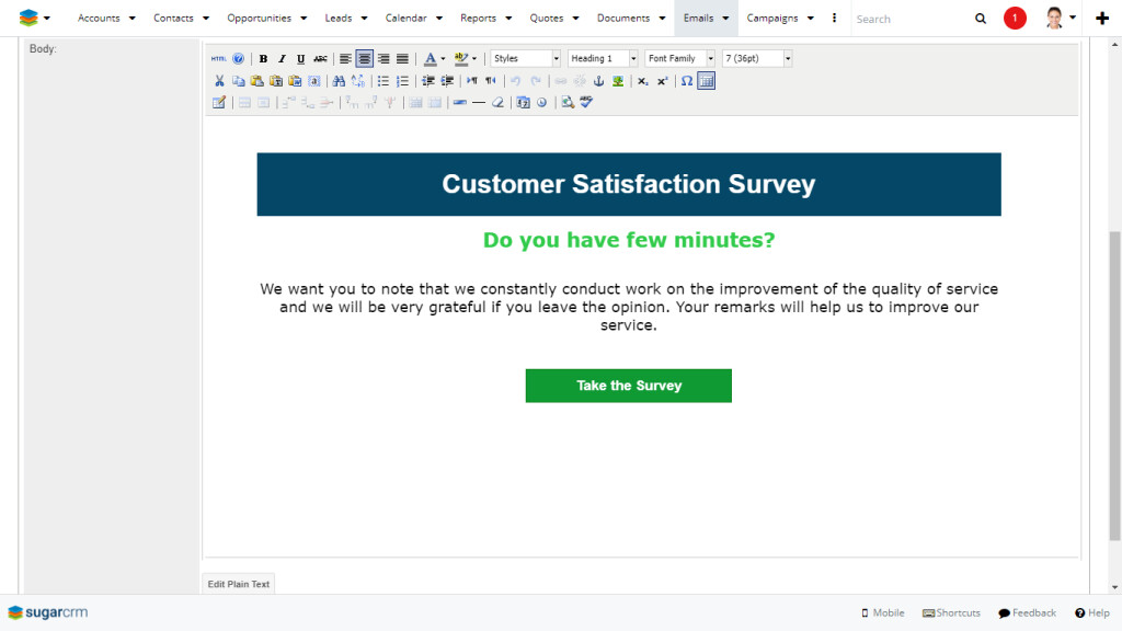 Create Custom Email Templates