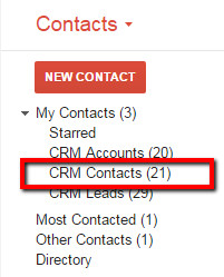 Address Book Contacts