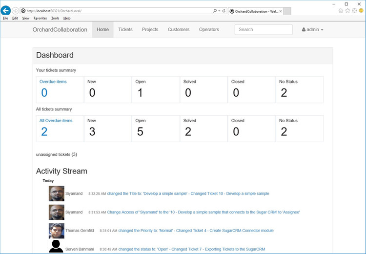 User Dashboard