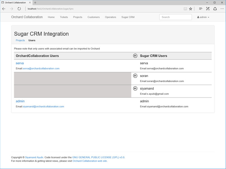 Import and Export Users from SugarCRM