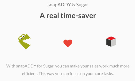 snapADDY loves Sugar!