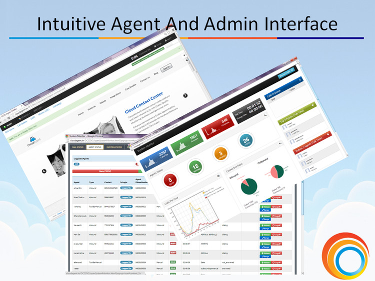 Intuitive Agent & Admin Interface