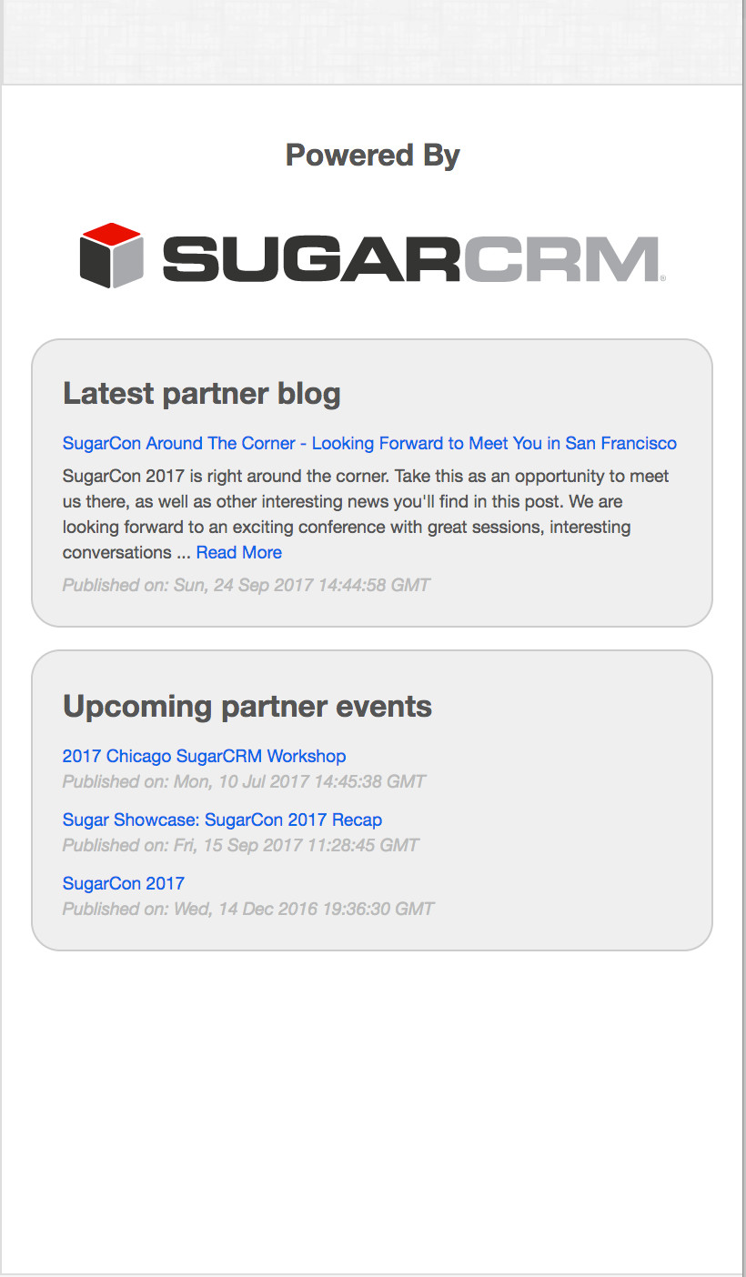 Stay up to date with the latest news and events from our partners.