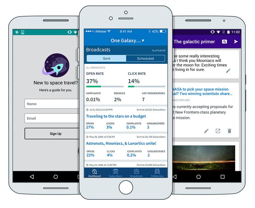 AWeber Mobile Apps