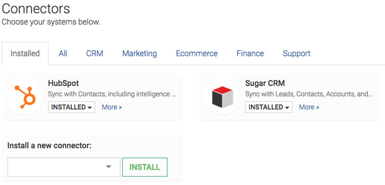 Integrate HubSpot & SugarCRM, automatically.